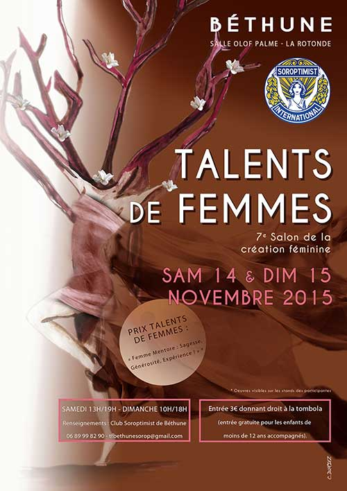 Salon Talents de femmes Bethune IS Edition